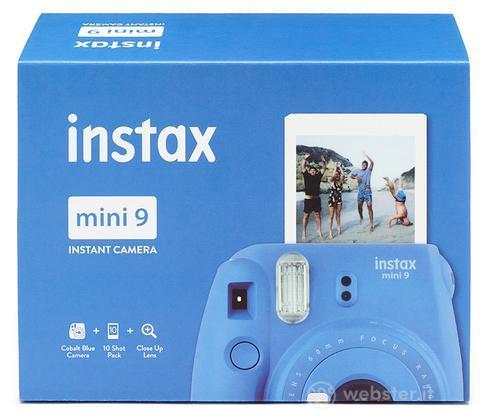 FUJIFILM Fotoc.Instax MINI9 BLUE+10Shots