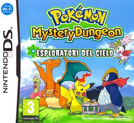 Pokemon Mystery Dungeon - Esplor. Cielo