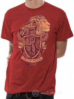 T-Shirt Harry Potter-Grifondoro-XL