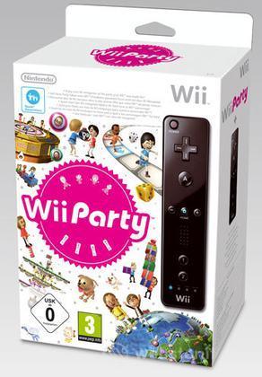 WII Party + Telecomando Nero