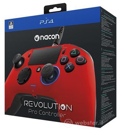 NACON Ctrl Revolution Rosso PS4