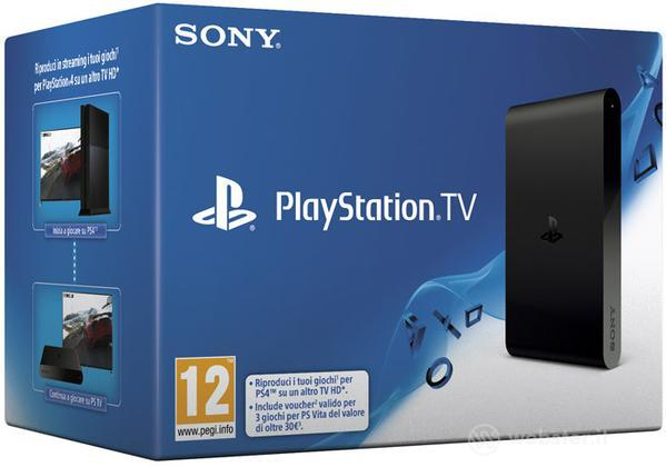 Sony Playstation TV + PS TV Voucher