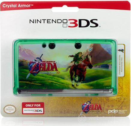 3DS Zelda Crystal Armor PDP