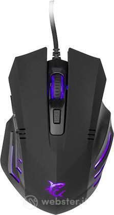 WHITESHARK Mouse GM-3006 Hannibal Nero
