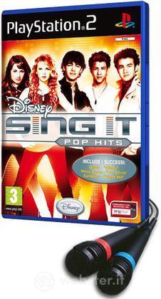 Disney Sing It! Pop Hits + 2 Microfoni