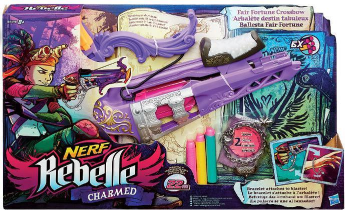 Nerf Rebelle Charmed Fair Fortune Crossb