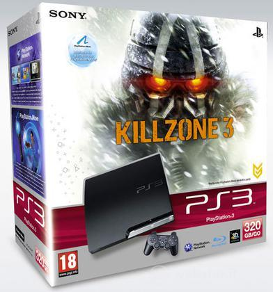 Playstation 3 320 GB + Killzone 3