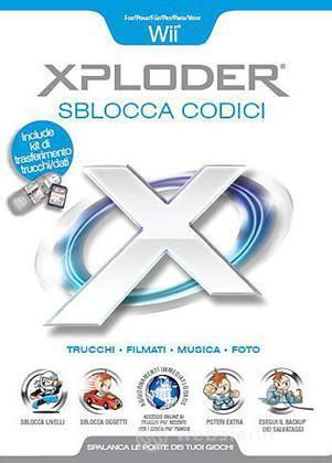WII Xploder Sblocca Codici BLAZE