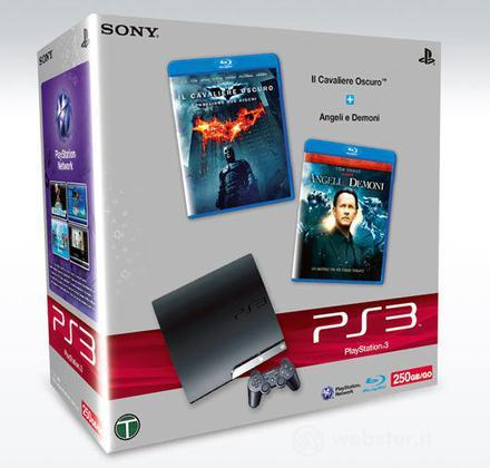Playstation 3 250 Gb + Film Cav.Osc.+A&D