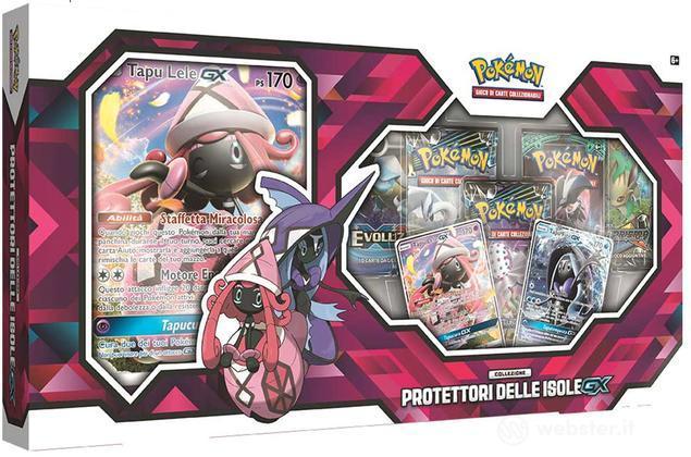 Pokemon Collezione Protettori Isole GX