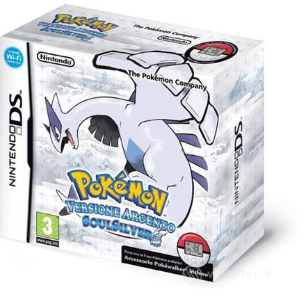 Pokemon Argento SoulSilver + Pokewalker