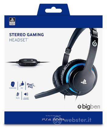 BB Cuffie Stereo Gaming V2 Uff.Sony PS4