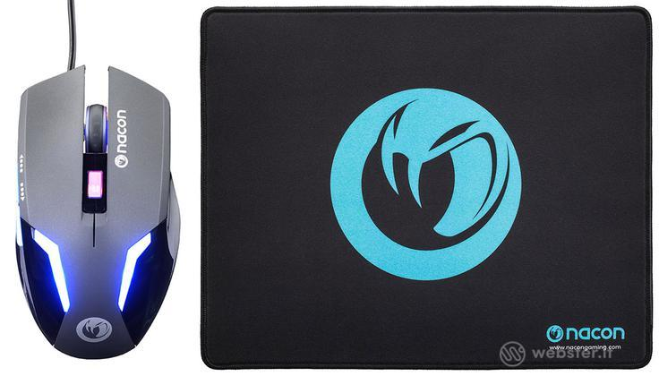 NACON Gaming Mouse GM-105+Mousepad PC