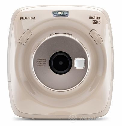 FUJIFILM Fotocamera Instax SQ20 BEIGE