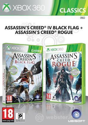 Compil AC IV Black Flag + AC Rogue