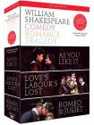 William Shakespeare - Comedy, Romance, Tragedy (4 Dvd)