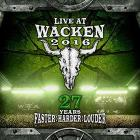 Live At Wacken 2016 (2 Dvd+2 Cd)