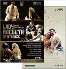 Dmitri Shostakovich / Francesco Cilea - Lady Macbeth Of Mtsensk / Adriana Lecouvreur (3 Dvd)