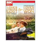 William Shakespeare. Love's Labour Lost & Loves Labour's Won (2 Dvd)