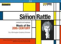 Sir Simon Rattle Conducts And Explores Music Of The 20th Century (3 Blu-ray)