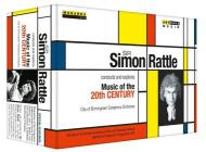 Sir Simon Rattle Conducts And Explores Music Of The 20th Century (5 Dvd)