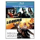 Azione. Jonah Hex. The Losers. Ninja Assassin (Cofanetto 3 blu-ray)