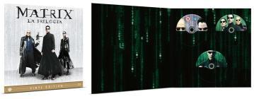 Matrix - La Trilogia Vinyl Edition (3 Blu-Ray) (Blu-ray)