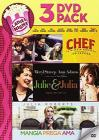 Julie And Julia / Mangia Prega Ama / Chef (3 Dvd)