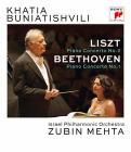 Khatia Buniatishvili. Zubin Mehta. Liszt. Beethoven (Blu-ray)