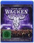Live at Wacken 2013 (3 Blu-ray)