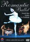 Romantic Ballet. La Silfide - Giselle - Il lago dei cigni (3 Dvd)