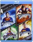 4 grandi film. Superman Collection (Cofanetto blu-ray e dvd)
