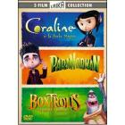 Boxtrolls. Coraline. ParaNorman (Cofanetto 3 dvd)