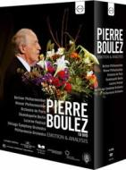 Pierre Boulez. Emotion & Analysis (Cofanetto 10 dvd)