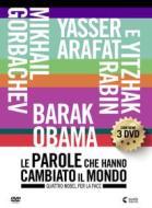 Le parole che hanno cambiato il mondo. Vol. 5. Quattro nobel per la pace (3 Dvd)