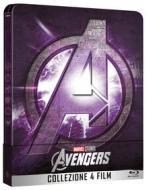 Avengers Collection Steelbook (4 Blu-Ray) (Blu-ray)
