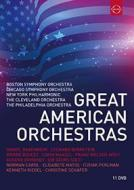 Great American Orchestras (11 Dvd)
