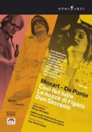 Mozart - Da Ponte. Così fan tutte - Le nozze di Figaro - Don Giovanni (Cofanetto 4 dvd)