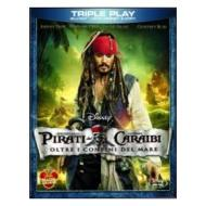 Pirati dei Caraibi. Oltre i confini del mare (Cofanetto blu-ray e dvd)