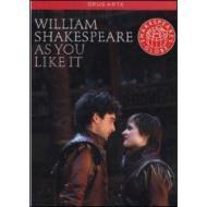 William Shakespeare. As you like it. Come vi piace