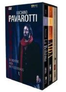 Luciano Pavarotti. La Bohéme - Aida - Il pipistrello (Cofanetto 4 dvd)
