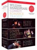 William Shakespeare - Comedy, Romance, Tragedy (4 Dvd)