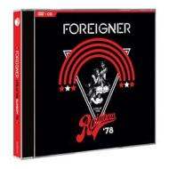 Foreigner - Live At The Rainbow '78 (Dvd+Cd) (2 Dvd)