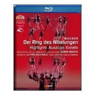 Richard Wagner. Der Ring des Nibelungen. Highlights (Blu-ray)