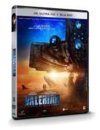 Valerian E La Citta' Dei Mille Pianeti (Blu-Ray 4K+Blu-Ray) (Blu-ray)
