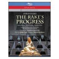 Igor Stravinsky. The Rake's Progress. La carriera di un libertino (Blu-ray)