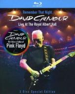 David Gilmour. Remember That Night. Live At The Royal Albert Hall (Edizione Speciale 2 blu-ray)