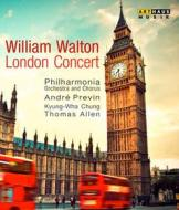 William Walton. London Concert: Orb And Sceptre, Concerto Per Violino, Belshazza (Blu-ray)