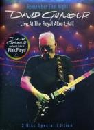 David Gilmour. Remember That Night. Live At The Royal Albert Hall (2 Dvd)