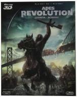 Apes Revolution. Il pianeta delle scimmie (Cofanetto 2 blu-ray)